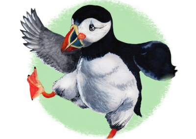 Puffin Prints